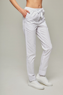 Medical trousers - White