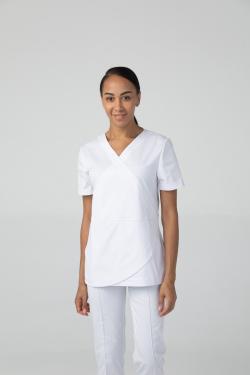 Туника медицинская женская с коротким рукавом DrNICE