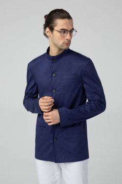 Пиджак медицинский - Cиний