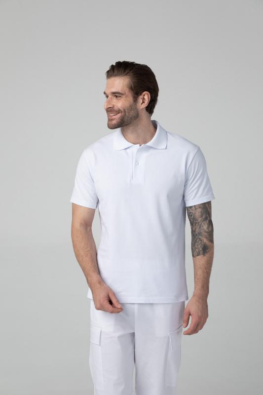 Медицинское поло DrNICE мужское с коротким рукавом