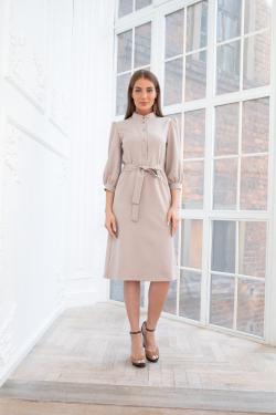 Платье с пуговицамиBeauty