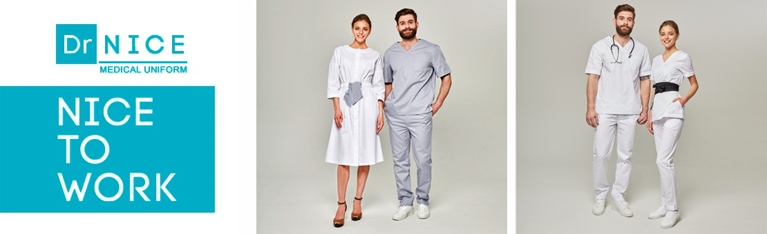 Dr.NICE medical clothing catalog
